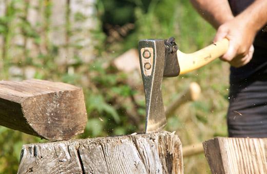 Axt Forstwerkzeug Krumpholz