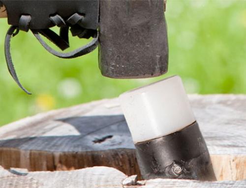 Spaltkeile für hartes Holz